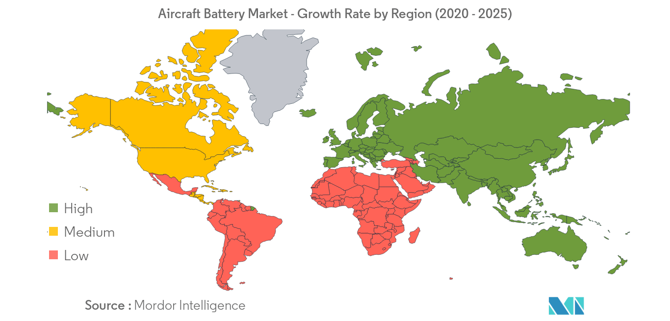 Aircraft Battery Market_Geography