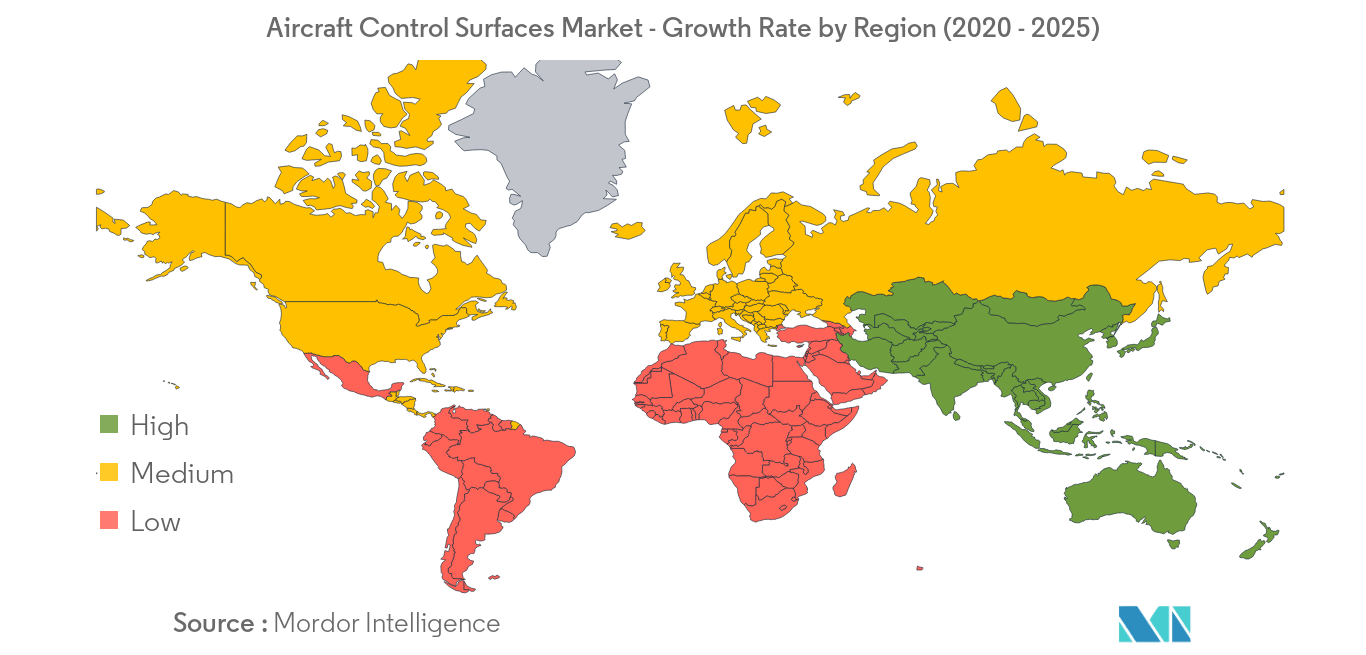Aircraft Control Surfaces Market_Geography