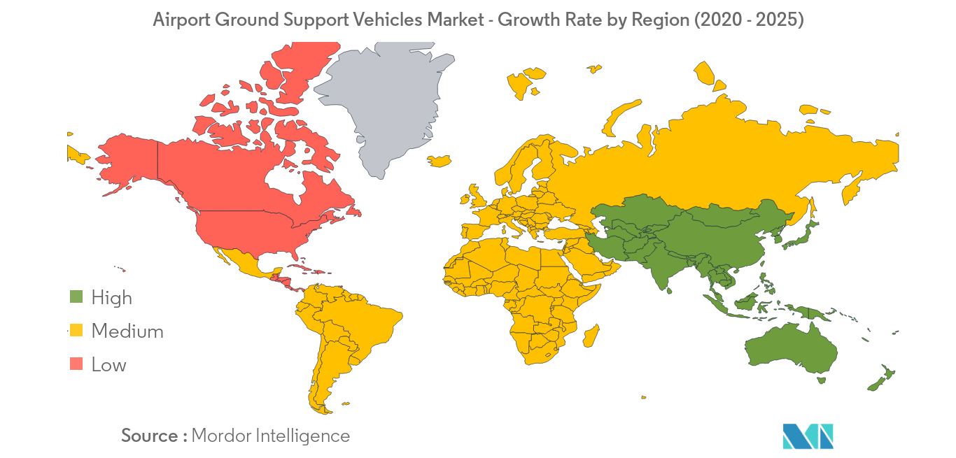 Airport Ground Support Vehicles Market_Geography