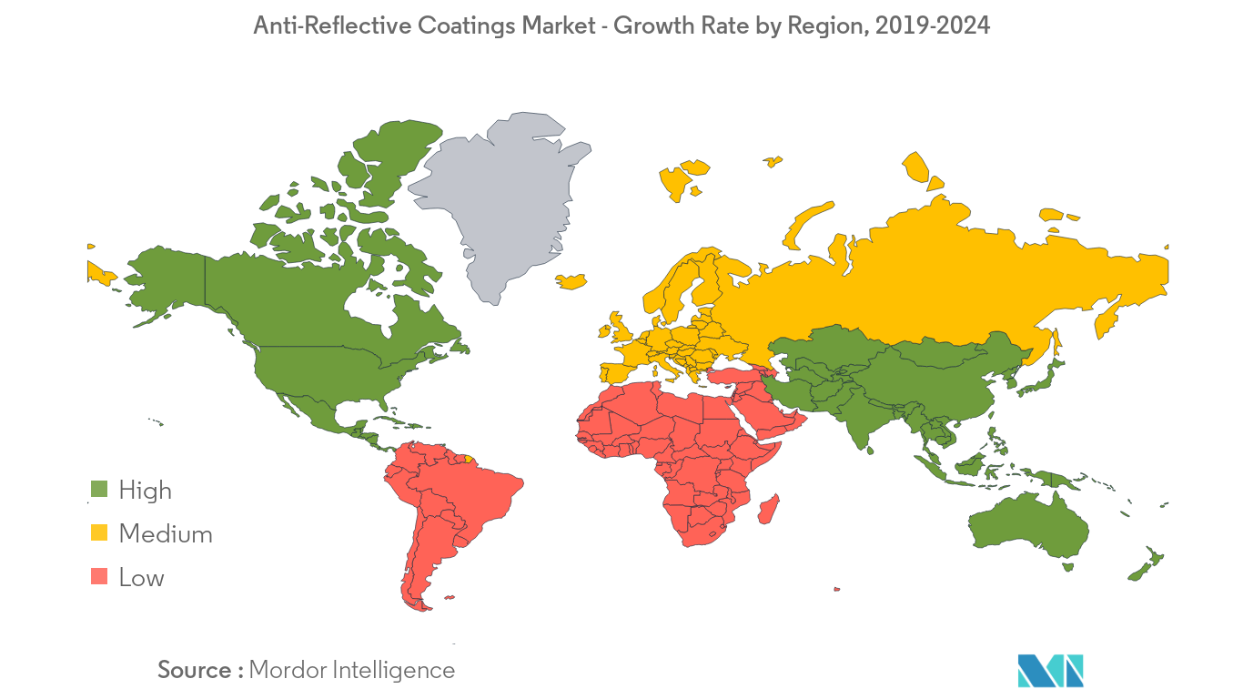 Anti-Reflective Coatings Market Regional Trends