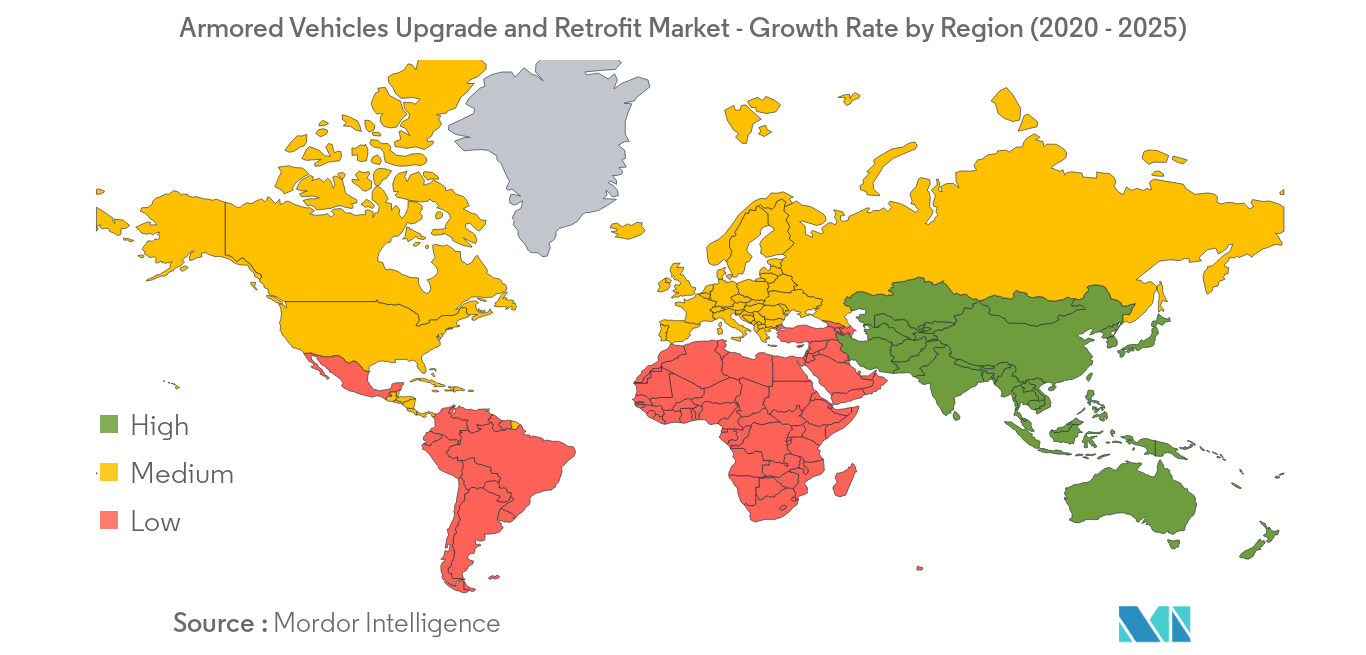 Armored Vehicles Upgrade and Retrofit_geography