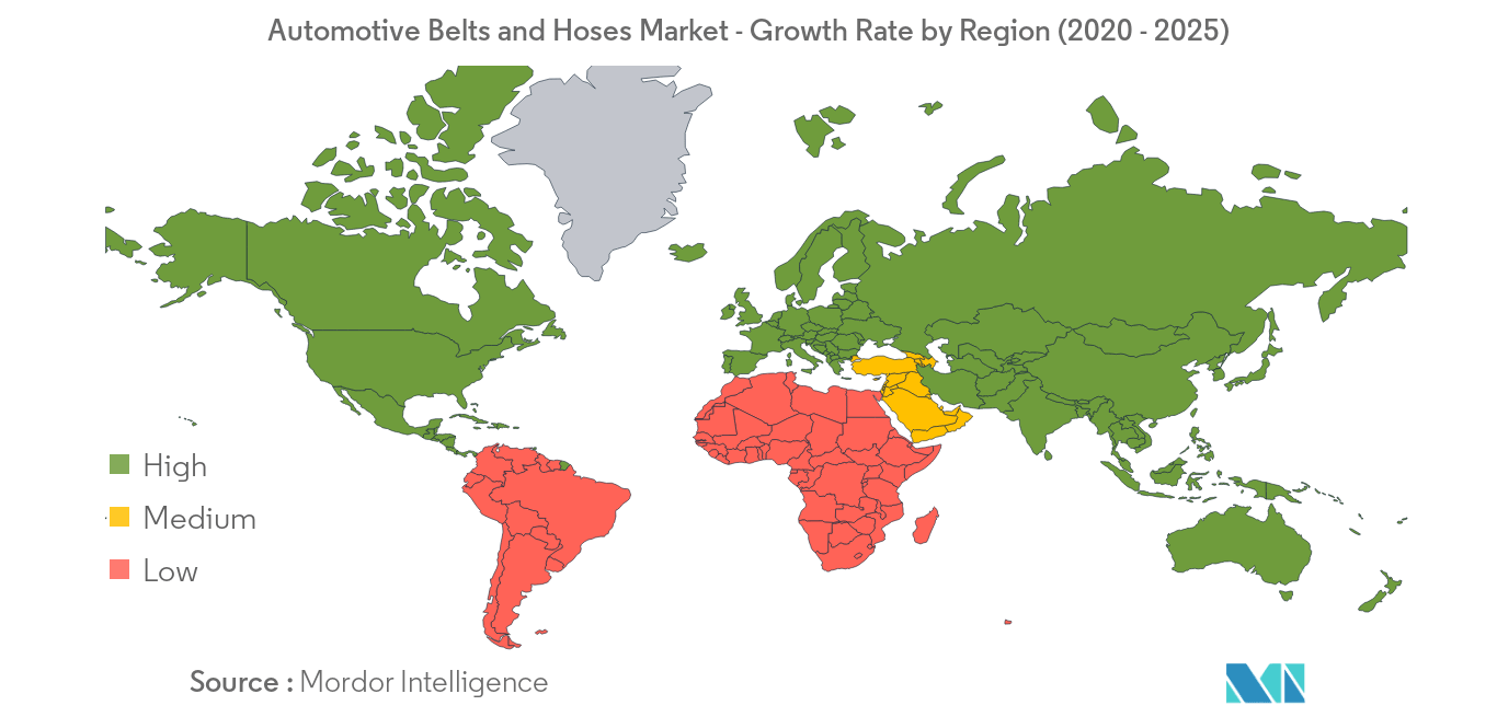 Automotive Belts and Hoses Market_Geography