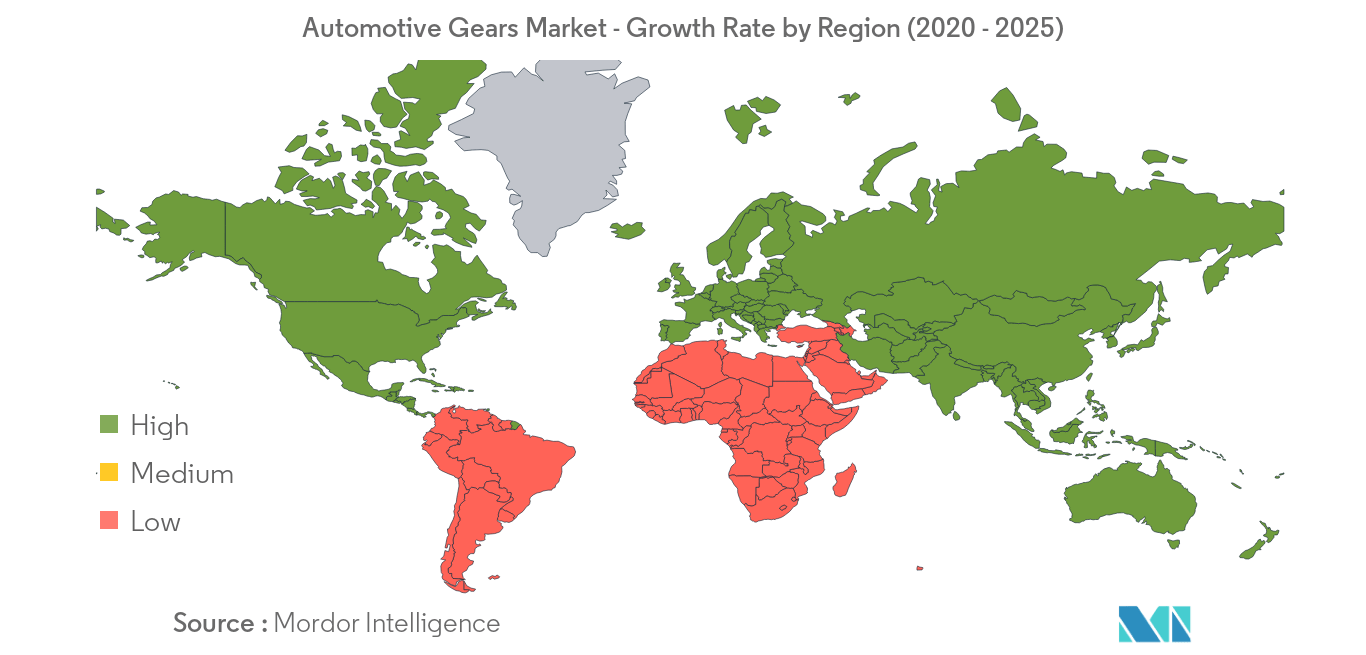 Automotive Gears Market_Geography