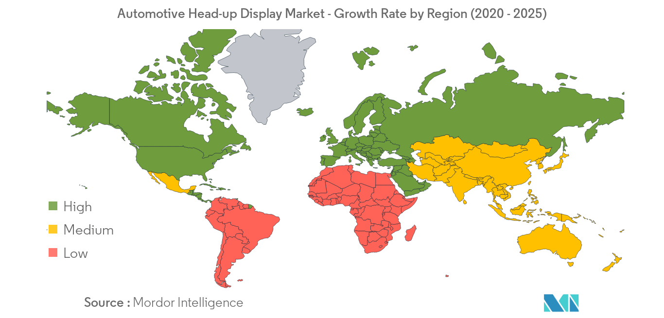 Automotive Head-up Display Market_Geography