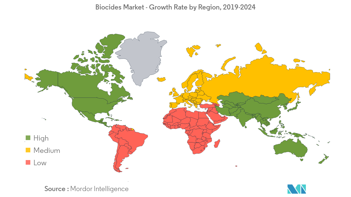 Biocides Market Growth Rate By Region