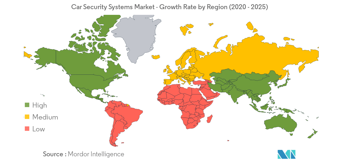 Car Security Systems Market_Geography