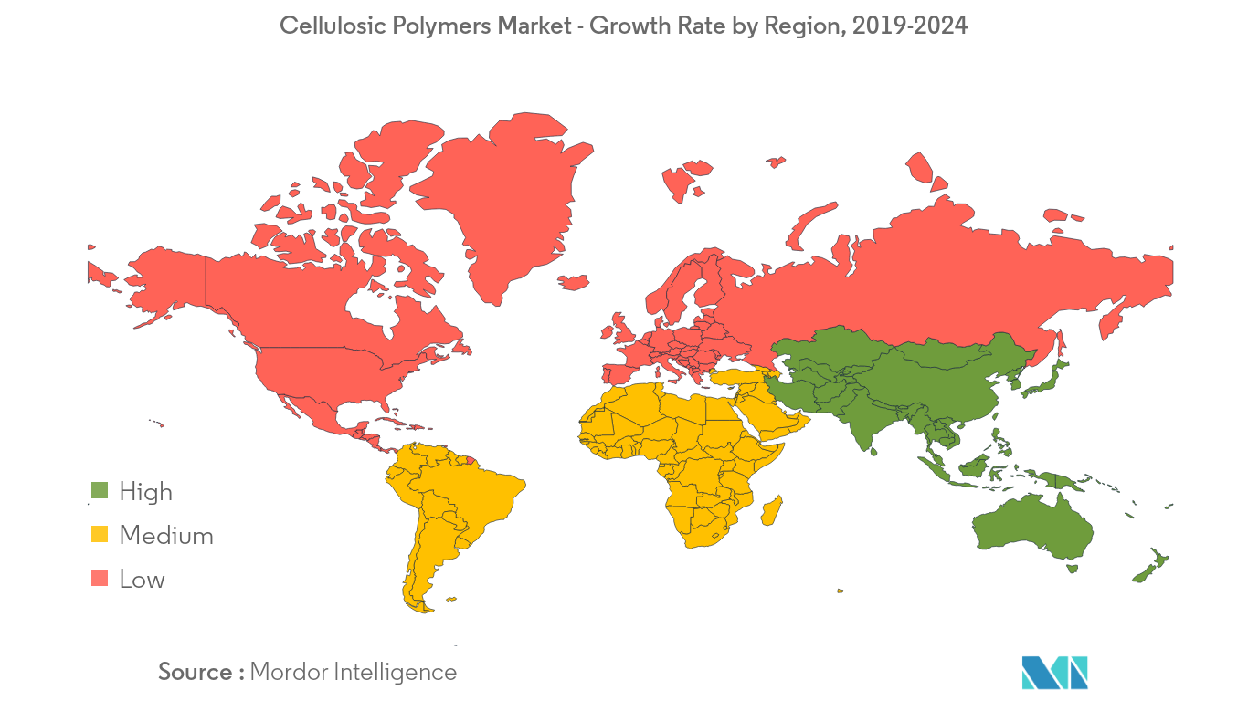 Cellulosic Polymers Market Regional Trends