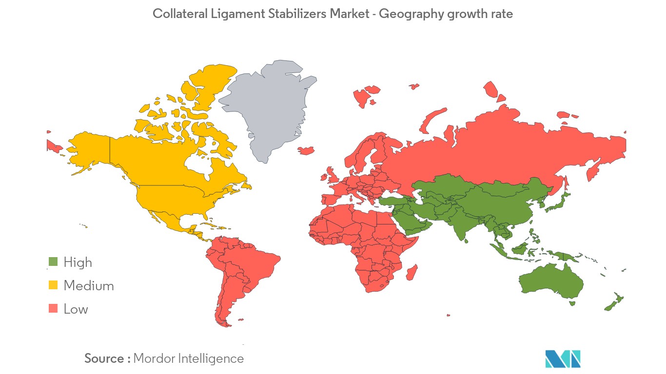 Collateral Ligament Stabilizers Market -  Geography growth rate - Image