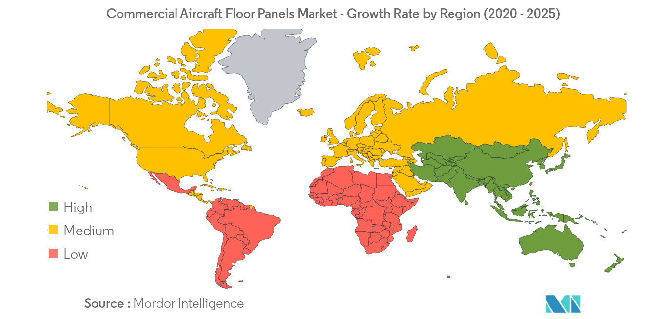 Commercial Aircraft Floor Panels_geography