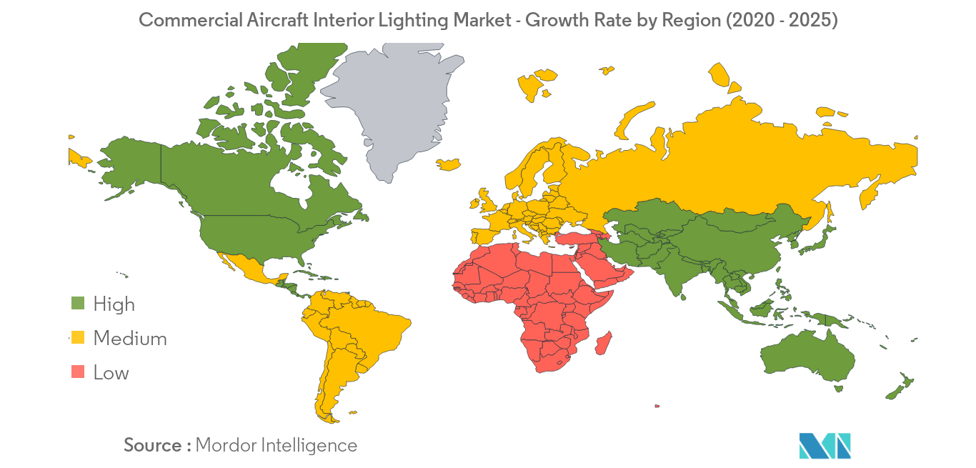 Commercial Aircraft Interior Lightning_geography