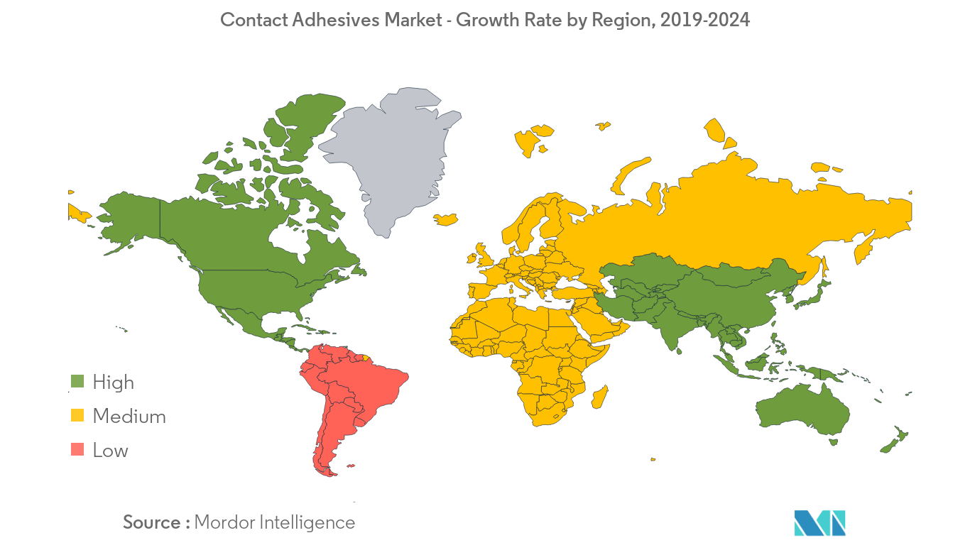 Contact Adhesives Market Regional Trends