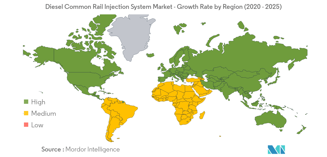 Diesel Common Rail Injection System Market_Geography