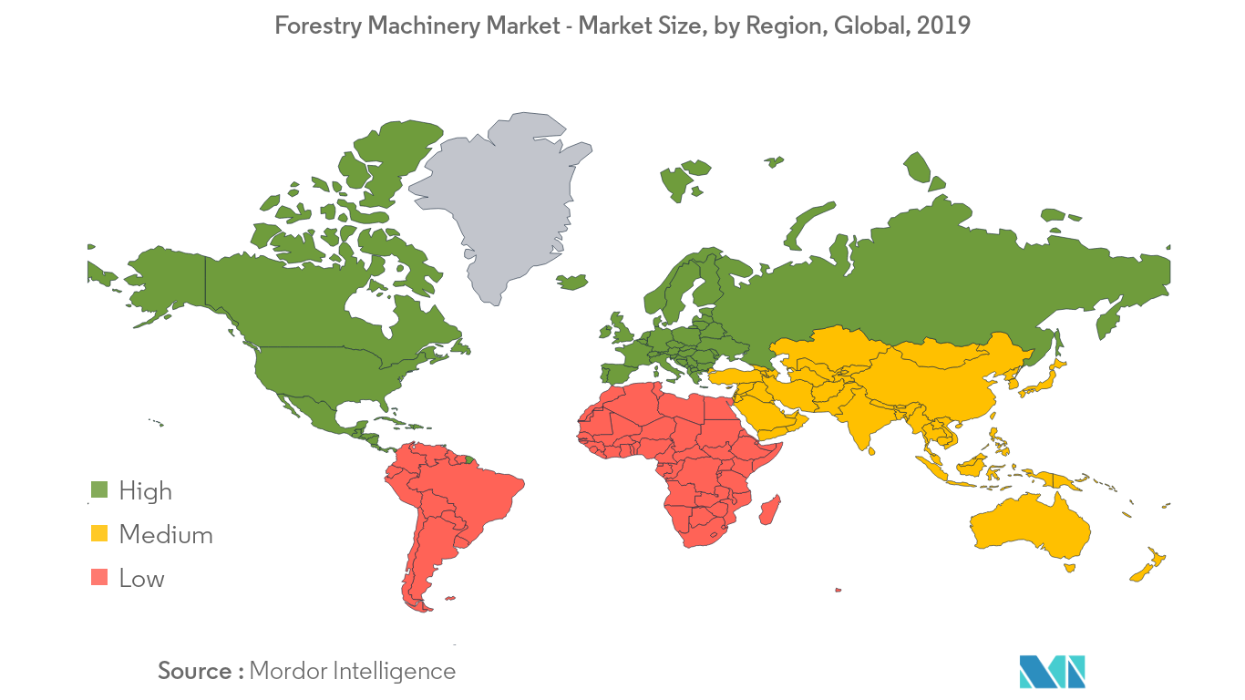 Forestry Machinery Market Growth by Region