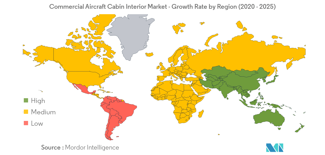 Commercial Aircraft Cabin Interior Market_Geography