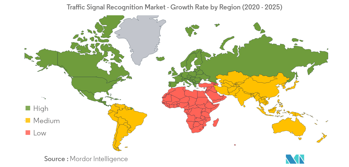 Traffic Signal Recognition Market_Geography