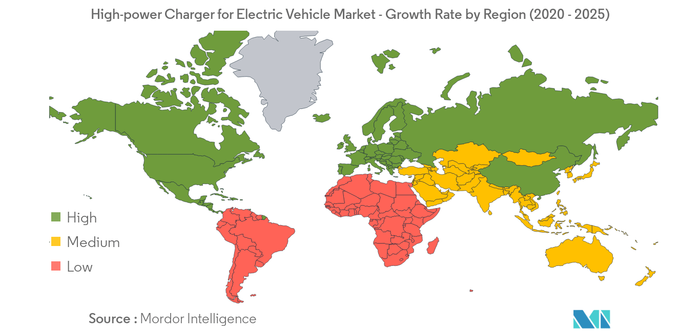 High-power Charger for Electric Vehicle_geography