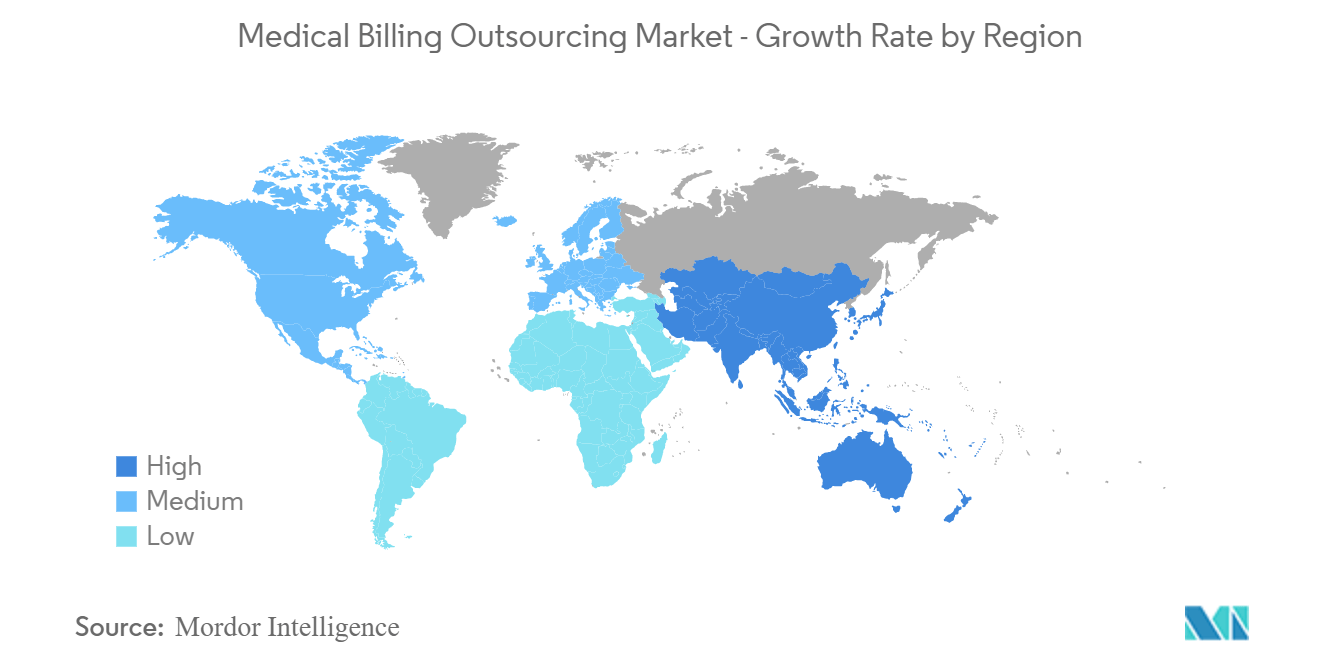 Growth rate by region