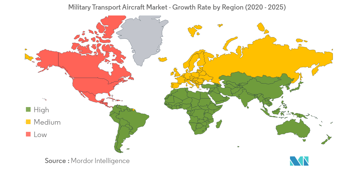 Military Transport Aircraft Market_Geography