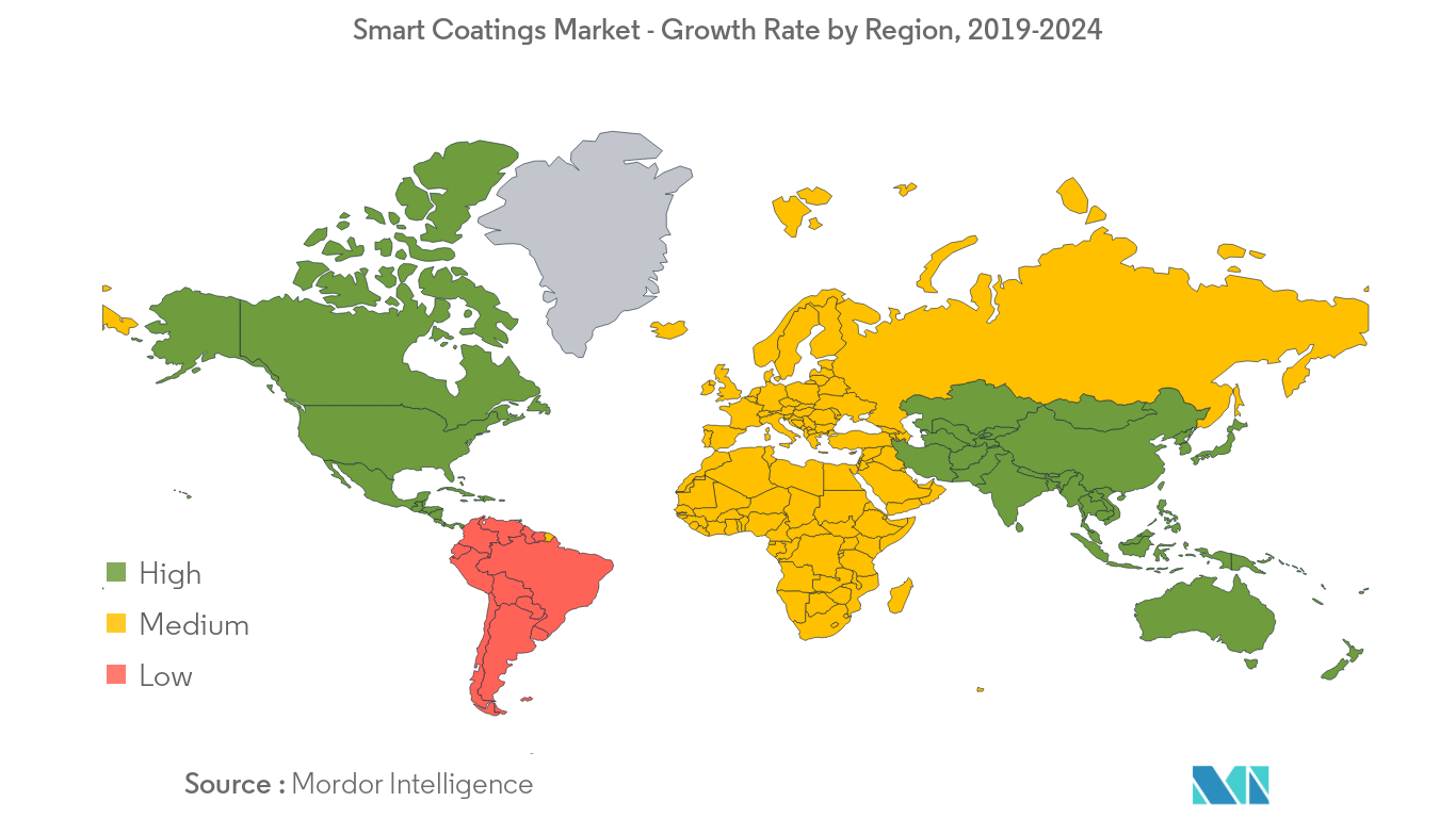 Smart Coatings Market Growth Rate