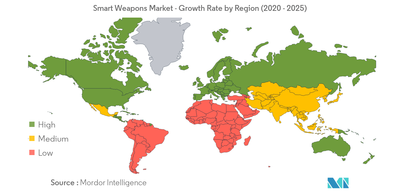 Smart Weapons Market Growth Rate