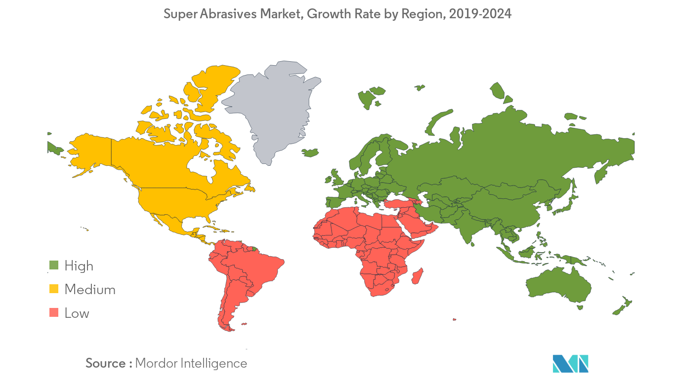 Super Abrasives Market Regional Trends