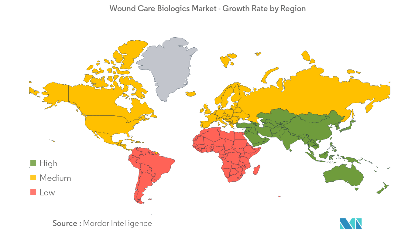 Wound Care Biologics Market Growth by Region